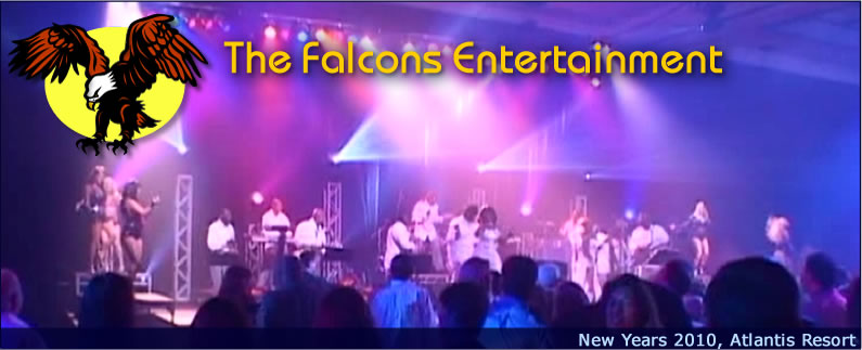 Bahamas Entertainment The Falcons  Atlantis Resort New Years 2010